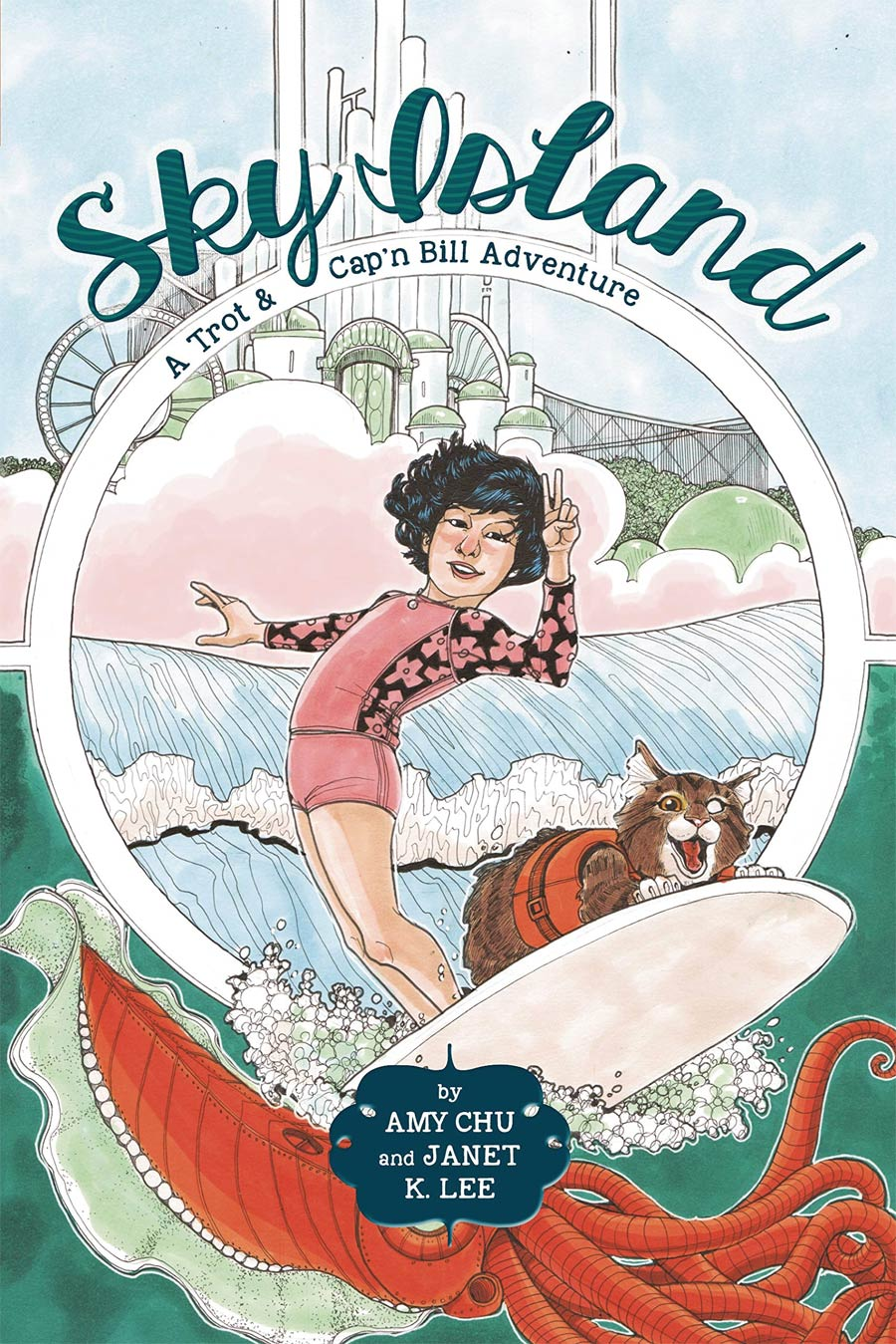 Trot & CapN Bill Adventure Vol 2 Sky Island HC