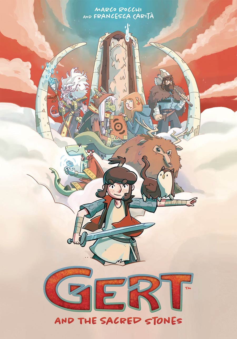 Gert And The Sacred Stones TP