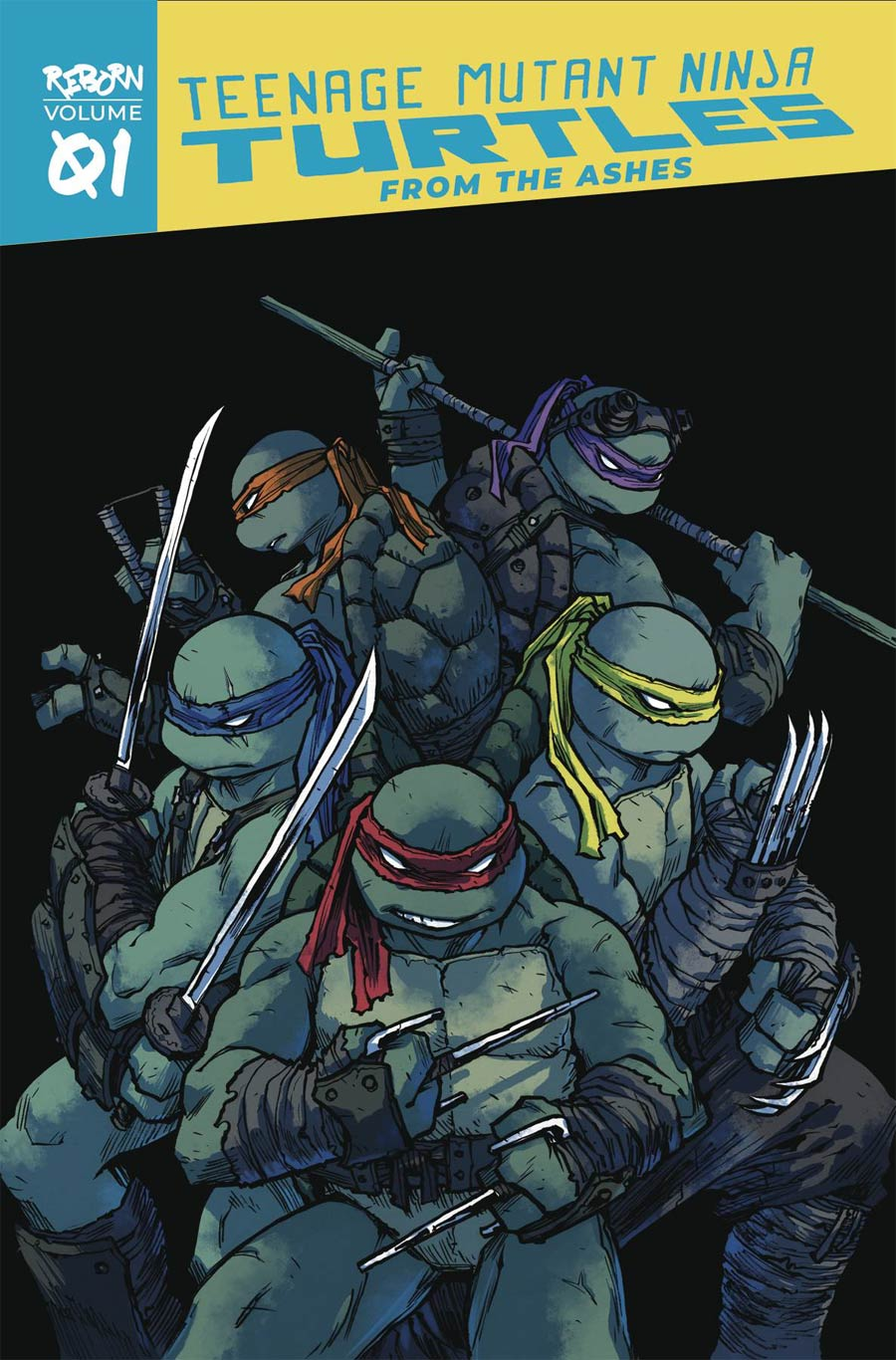 Teenage Mutant Ninja Turtles Reborn Vol 1 From The Ashes TP