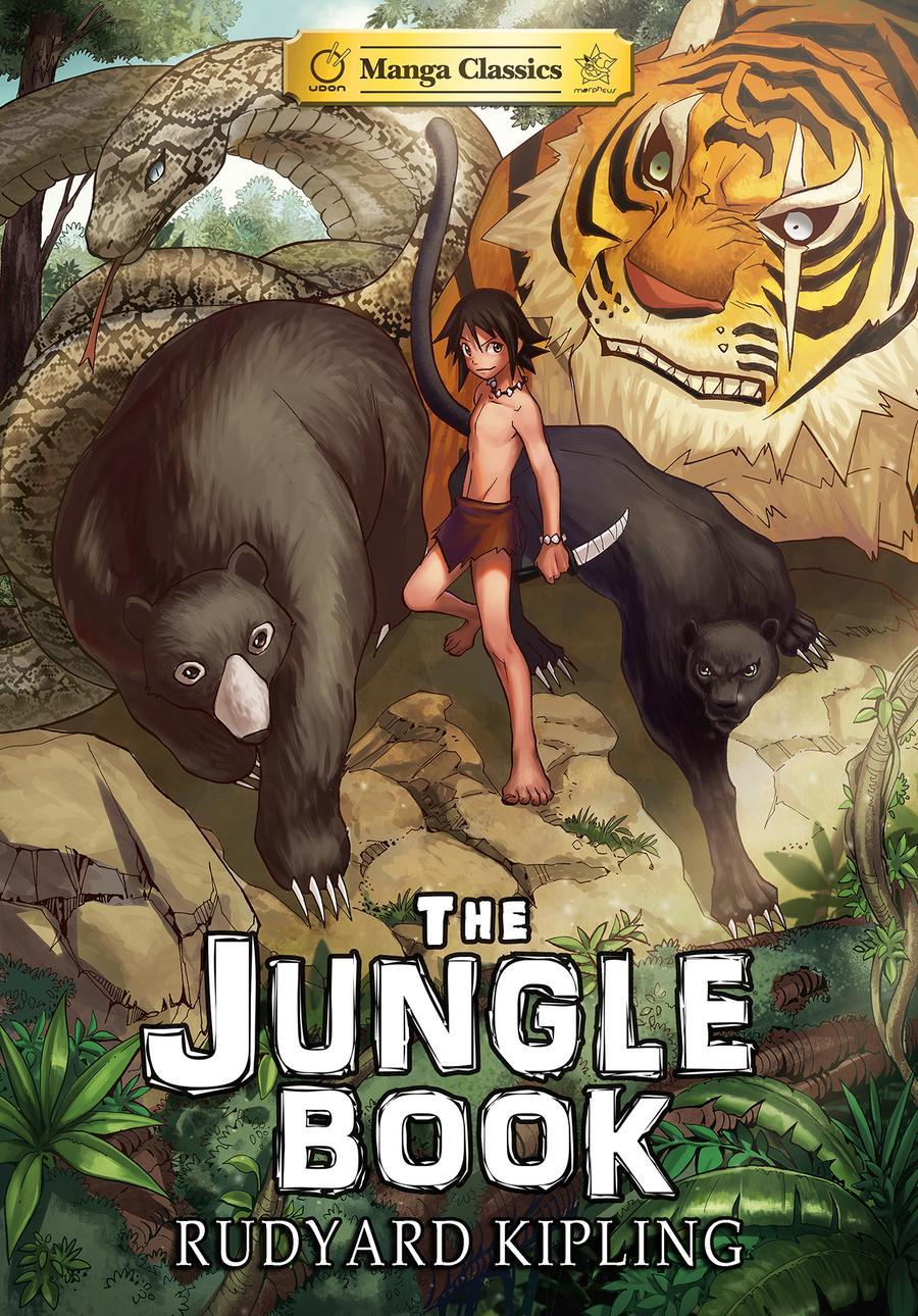 Manga Classics Jungle Book TP Manga Classics Edition