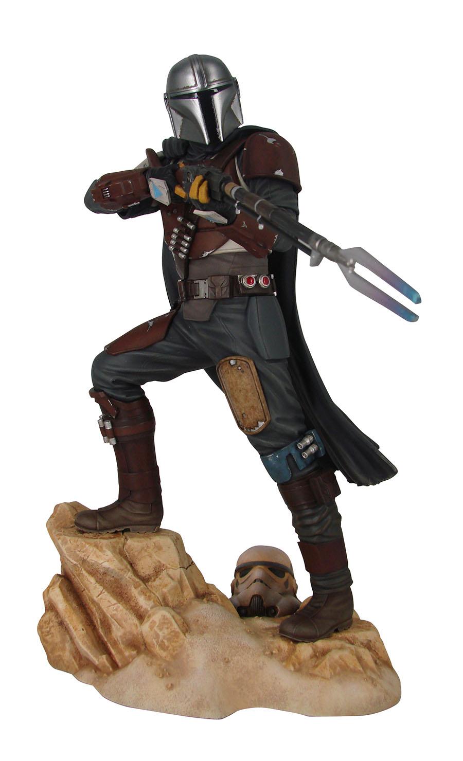 Star Wars Premier Collection The Mandalorian Mk1 1/7 Scale Statue
