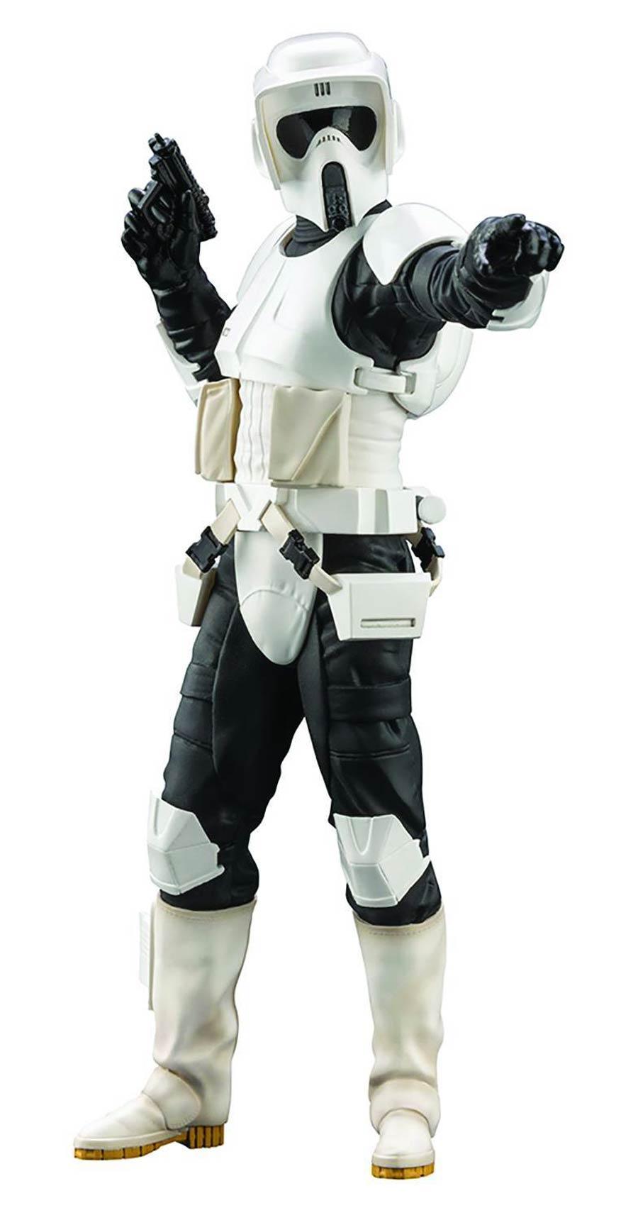 Star Wars Return Of The Jedi Scout Trooper ARTFX Plus Statue
