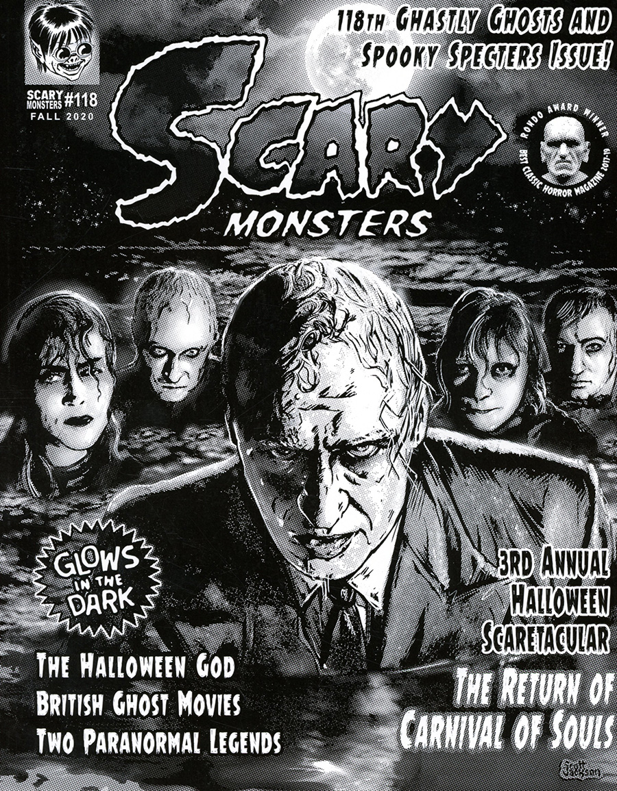 Scary Monsters Magazine #118