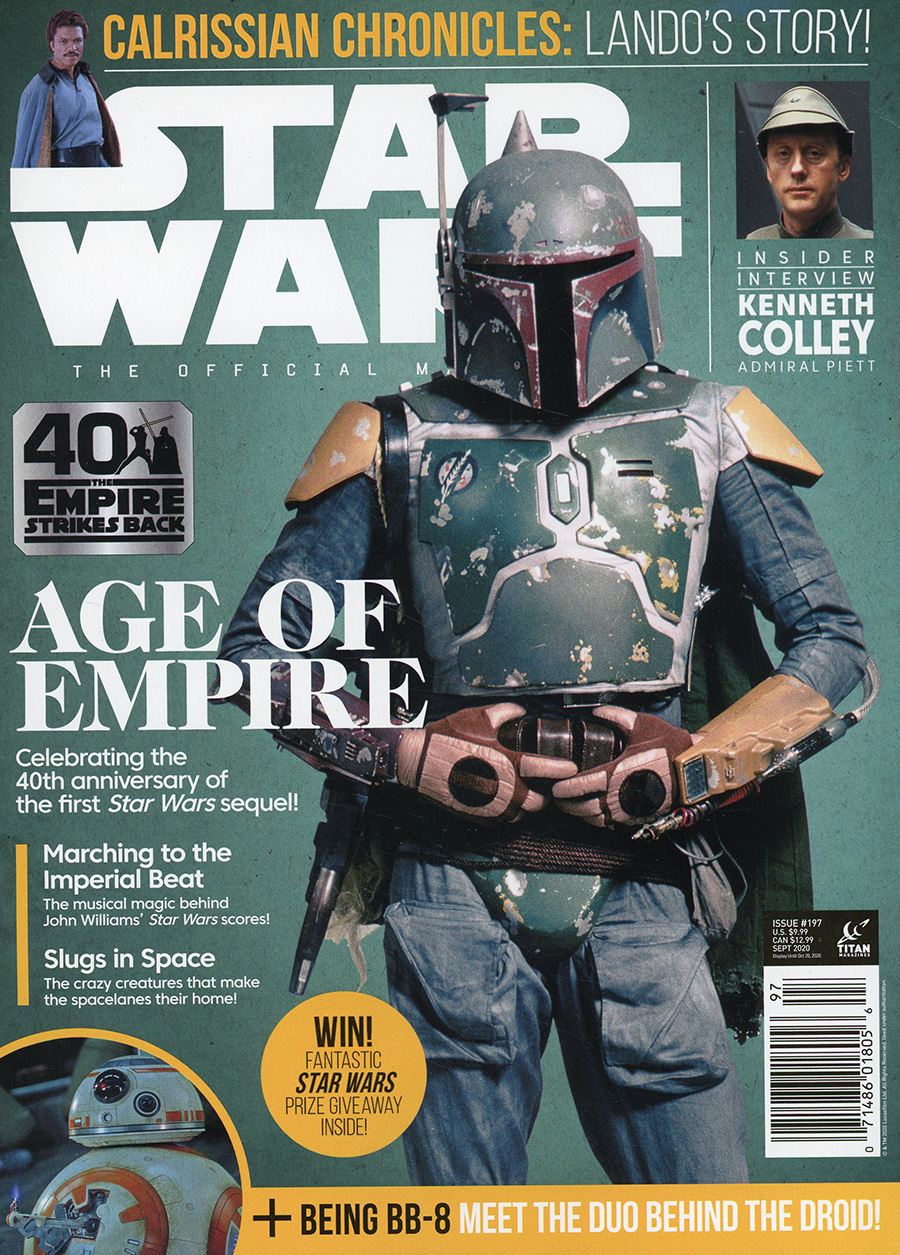 Star Wars Insider #197 September 2020 Newsstand Edition