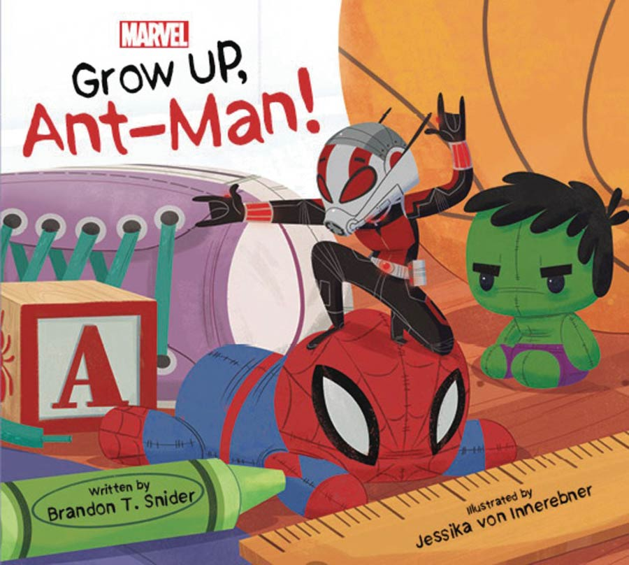 Grow Up Ant-Man Board Book HC