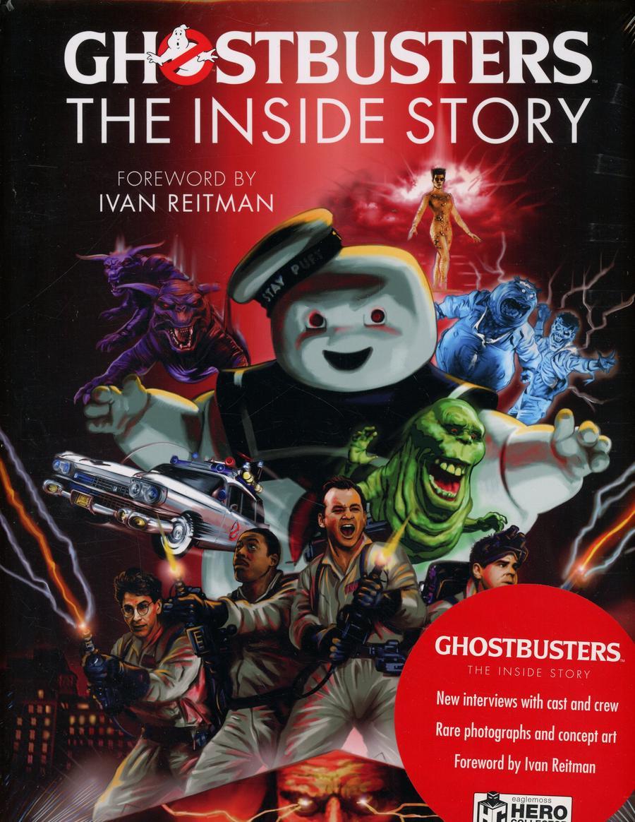 Ghostbusters Inside Story HC