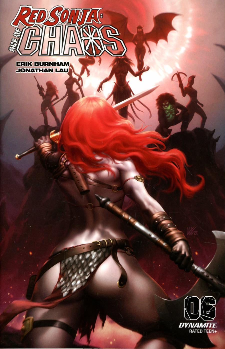 Red Sonja Age Of Chaos #6 Cover I Incentive Kunkka Variant Cover