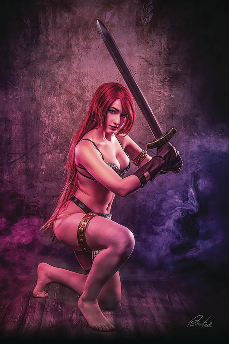 Red Sonja Age Of Chaos #6 Cover O Incentive Klaudia Bloom Cosplay Photo Virgin Cover