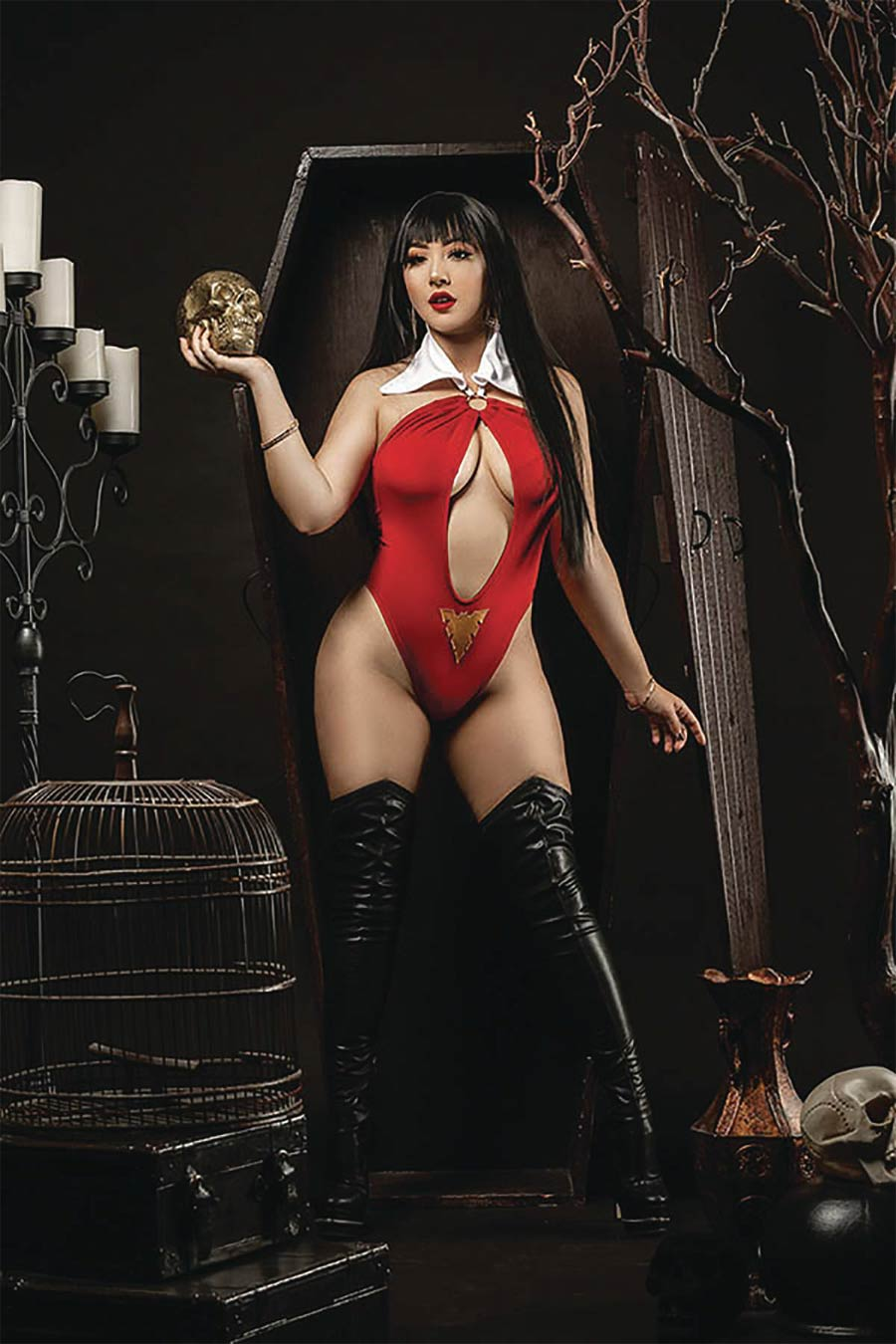 Vengeance Of Vampirella Vol 2 #9 Cover I Incentive Marissa Ramirez Cosplay Photo Virgin Cover