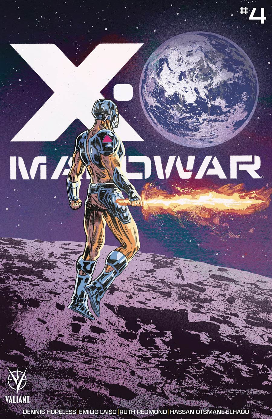 X-O Manowar Vol 5 #4 Cover E Incentive Michael Walsh Variant Cover