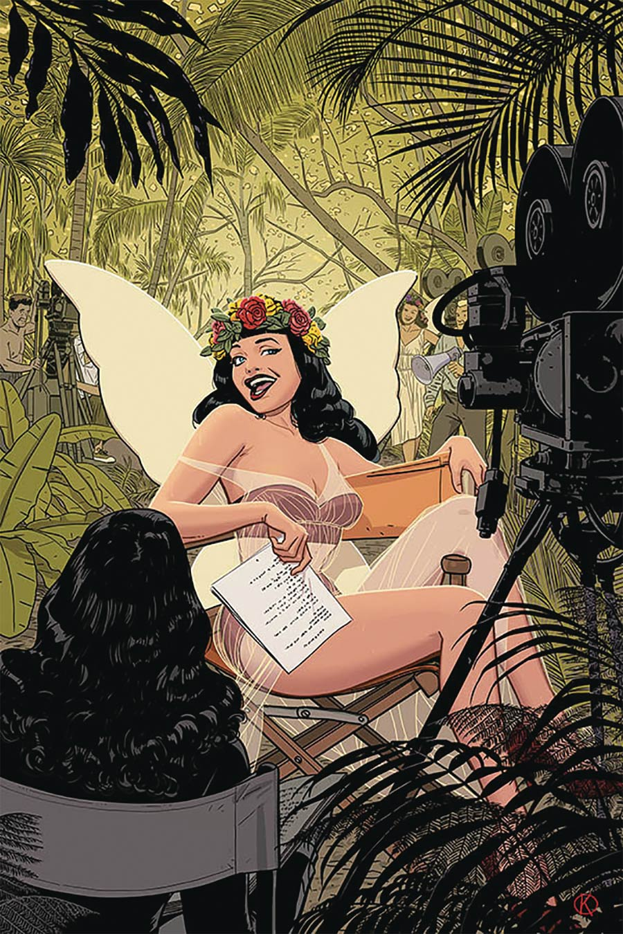 Bettie Page Vol 3 #1 Cover N Limited Edition Kano Virgin Cover