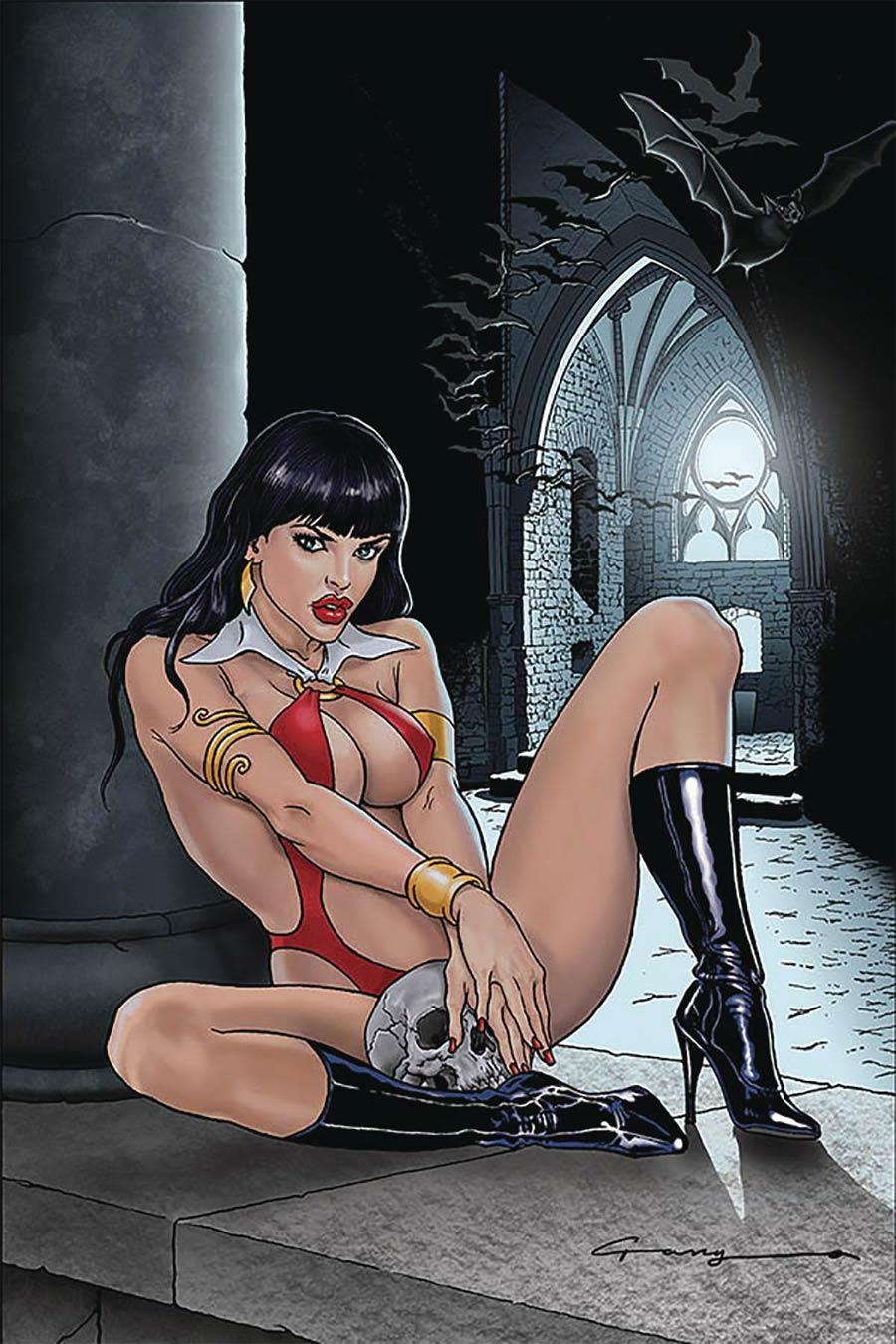 Vampirella Vol 8 #12 Cover W Limited Edition Levend Canga Virgin Cover