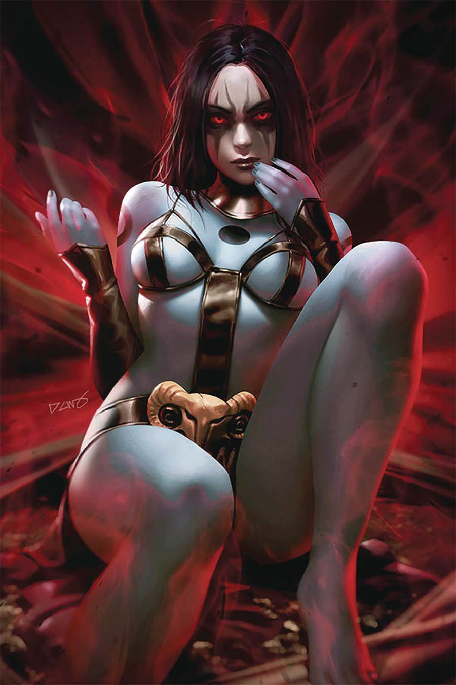 Red Sonja Age Of Chaos #6 Cover V Limited Edition Derrick Chew Virgin Cover