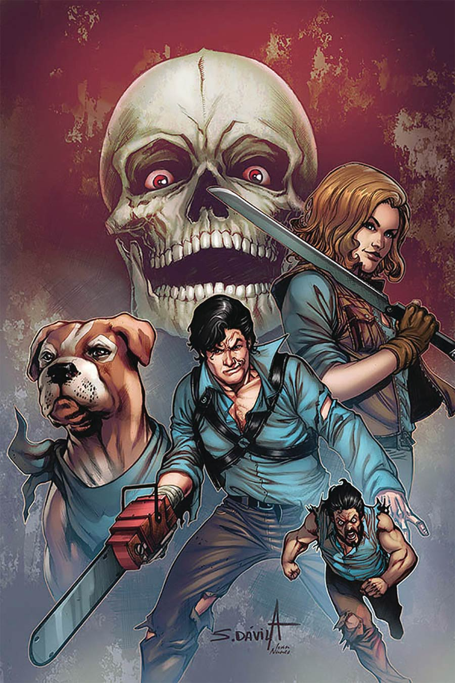 Death To The Army Of Darkness #5 Cover O Limited Edition Sergio Davila Virgin Cover