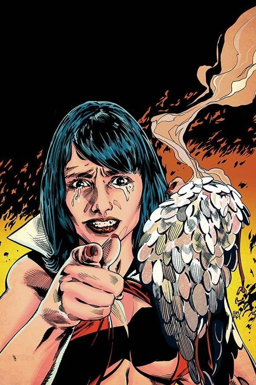 Vampirella Red Sonja #10 Cover T Limited Edition Stephen Mooney Frank Miller Homage Virgin Cover