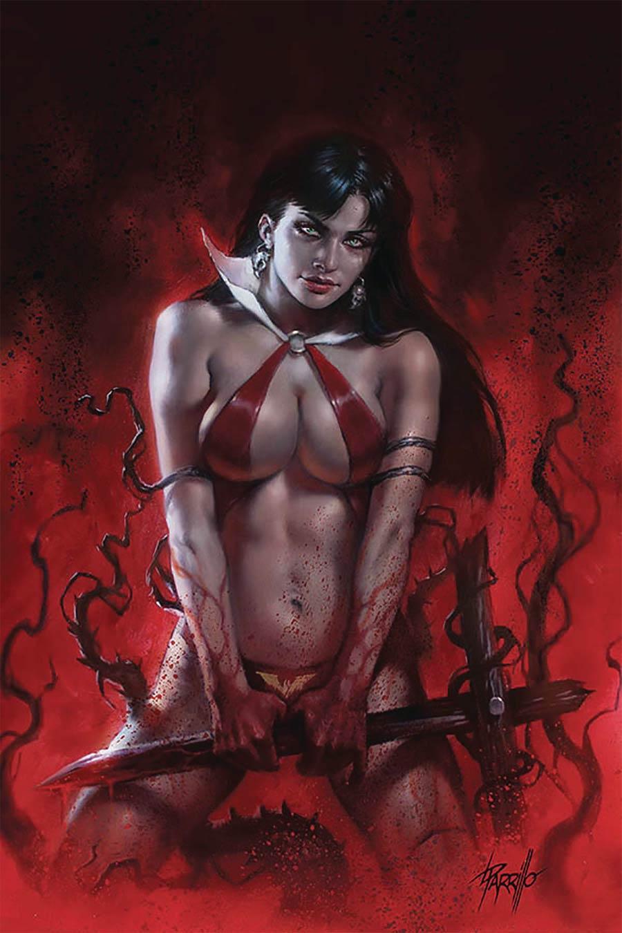 Vengeance Of Vampirella Vol 2 #9 Cover P Limited Edition Lucio Parrillo Virgin Cover