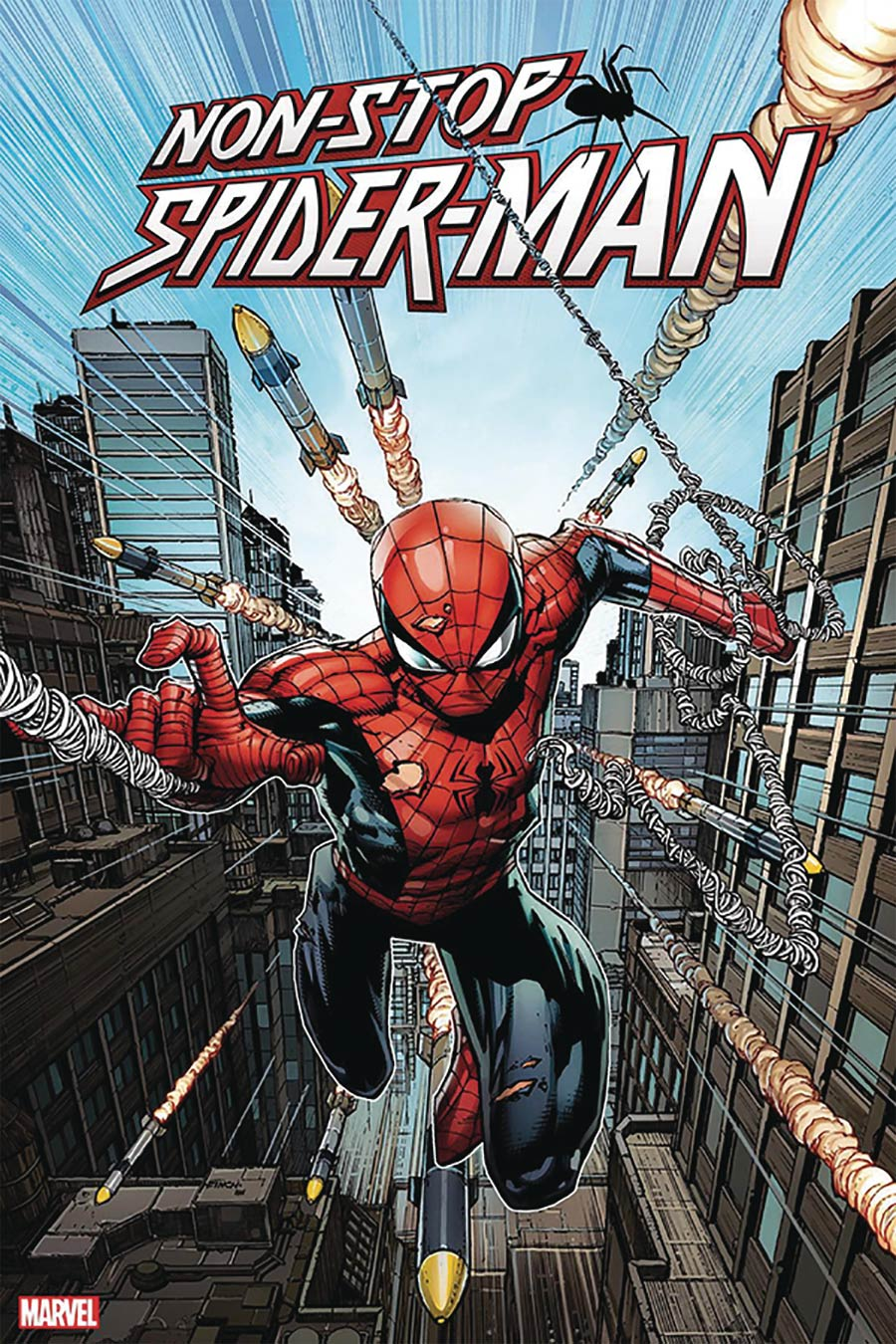 Non-Stop Spider-Man #1 DF Signed By Chris Bachalo Plus 1