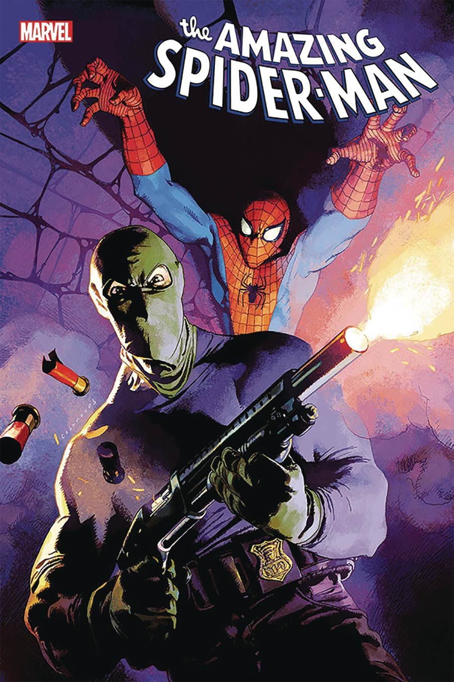Amazing Spider-Man Vol 5 #45 Cover C DF Signed By Nick Spencer