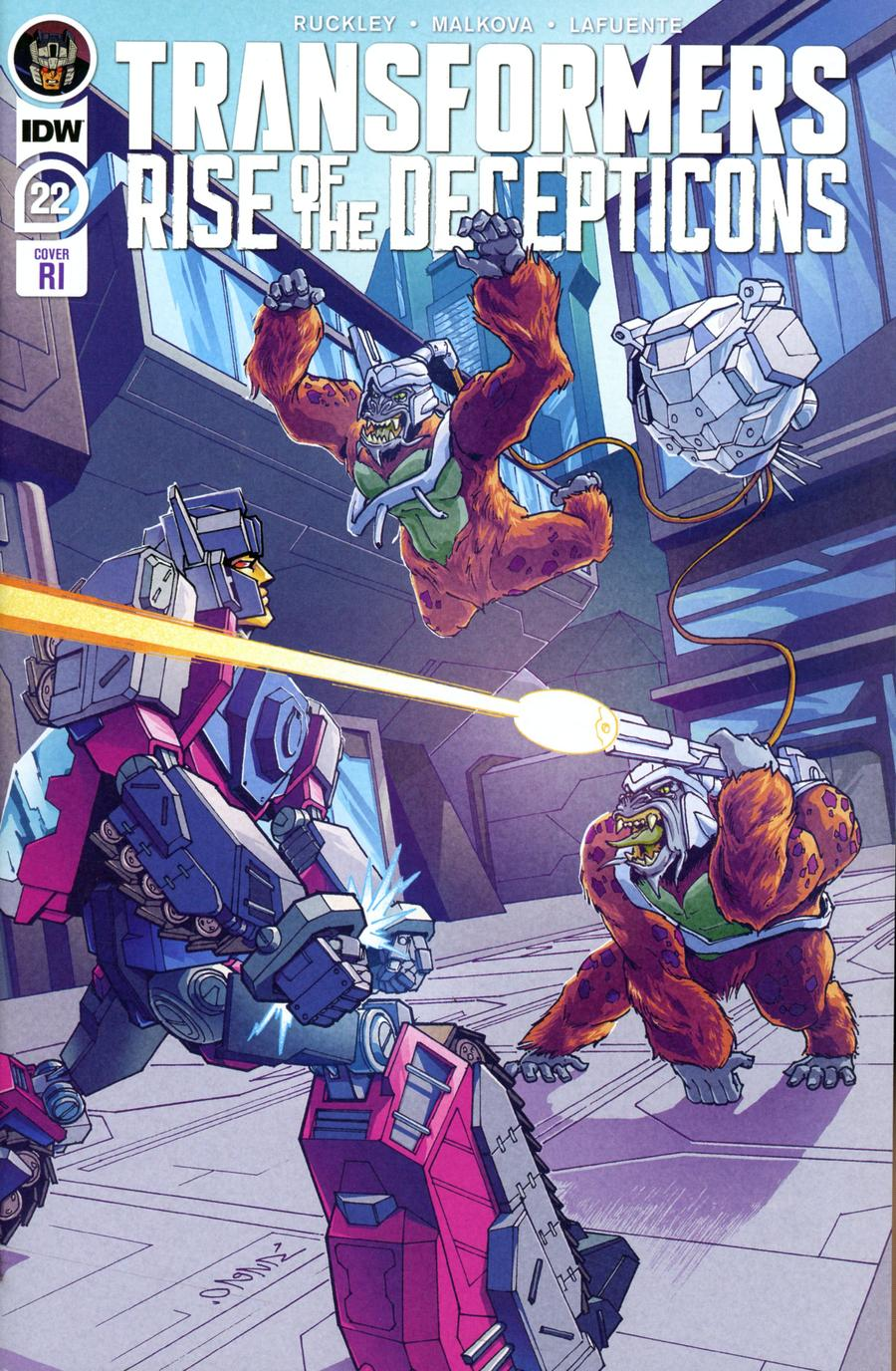 Transformers Vol 4 #22 Cover C Incentive Winston Chan Variant Cover