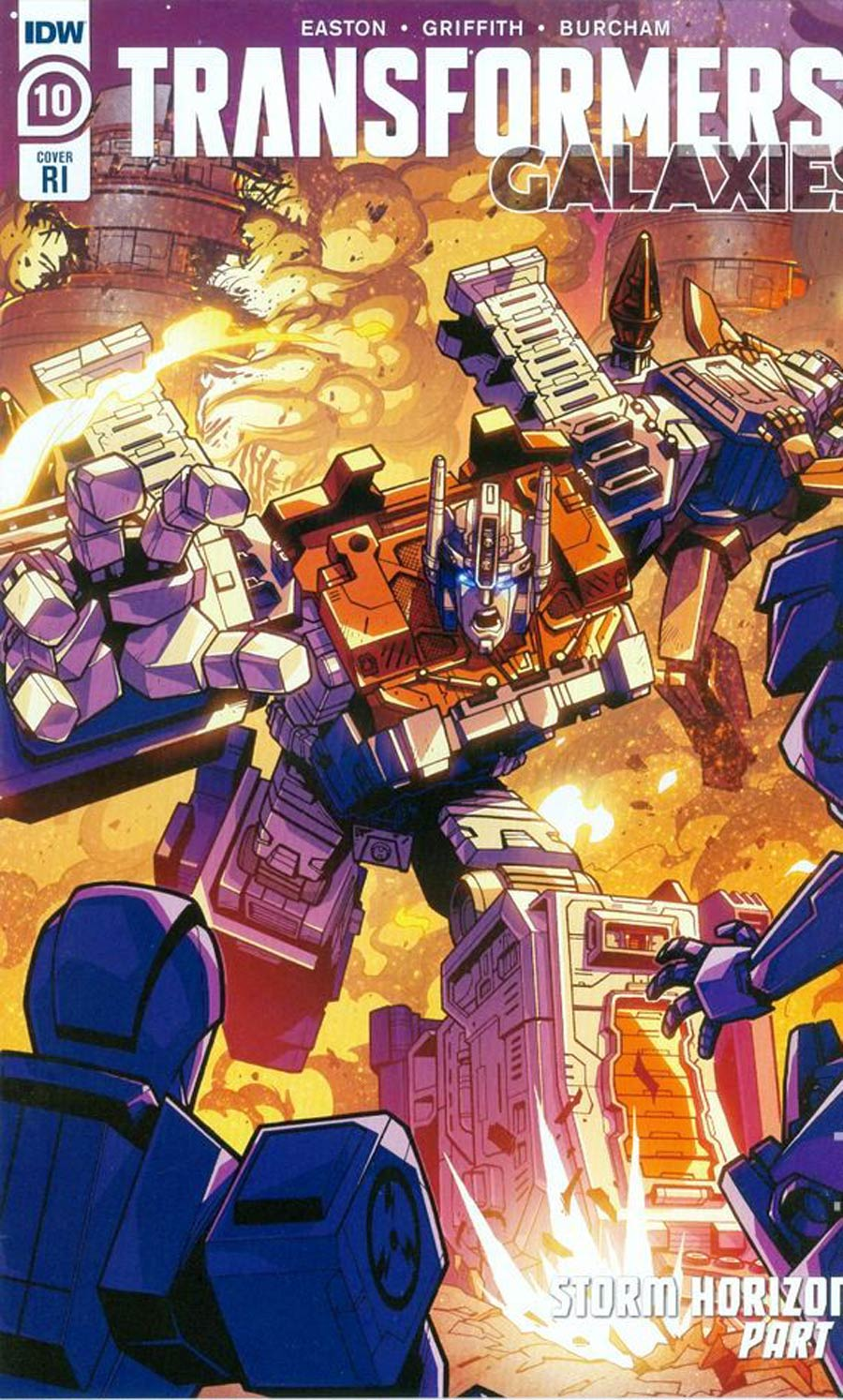 Transformers Galaxies #10 Cover C Incentive Jack Lawrence Variant Cover