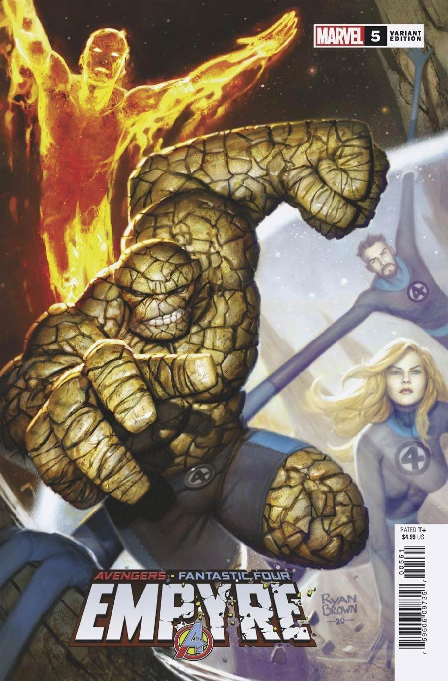Empyre #5 Cover F Incentive Ryan Brown Variant Cover