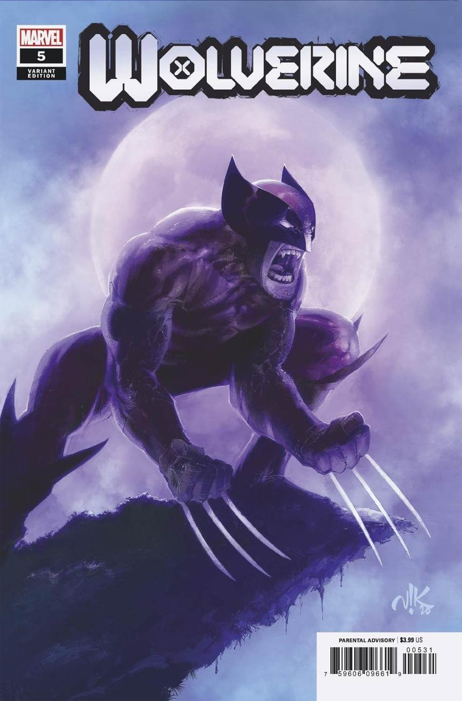 Wolverine Vol 7 #5 Cover C Incentive Viktor Bogdanovic Variant Cover
