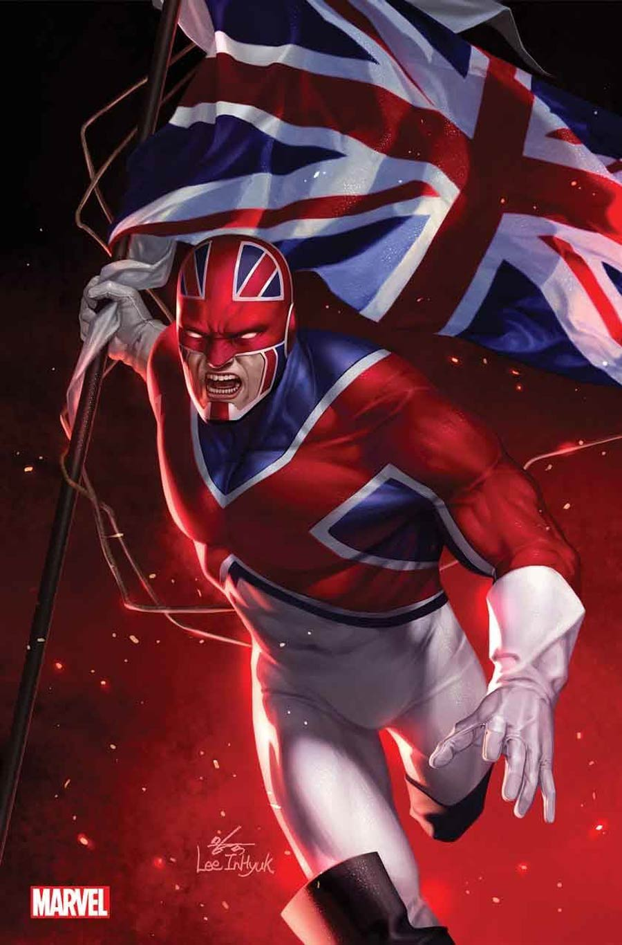 Marvel Tales Captain Britain #1 Cover B Incentive Inhyuk Lee Virgin Cover