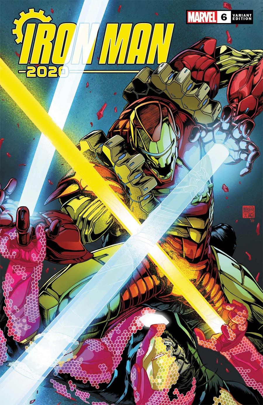 Iron Man 2020 #6 Cover E Incentive Takeshi Okazaki Variant Cover