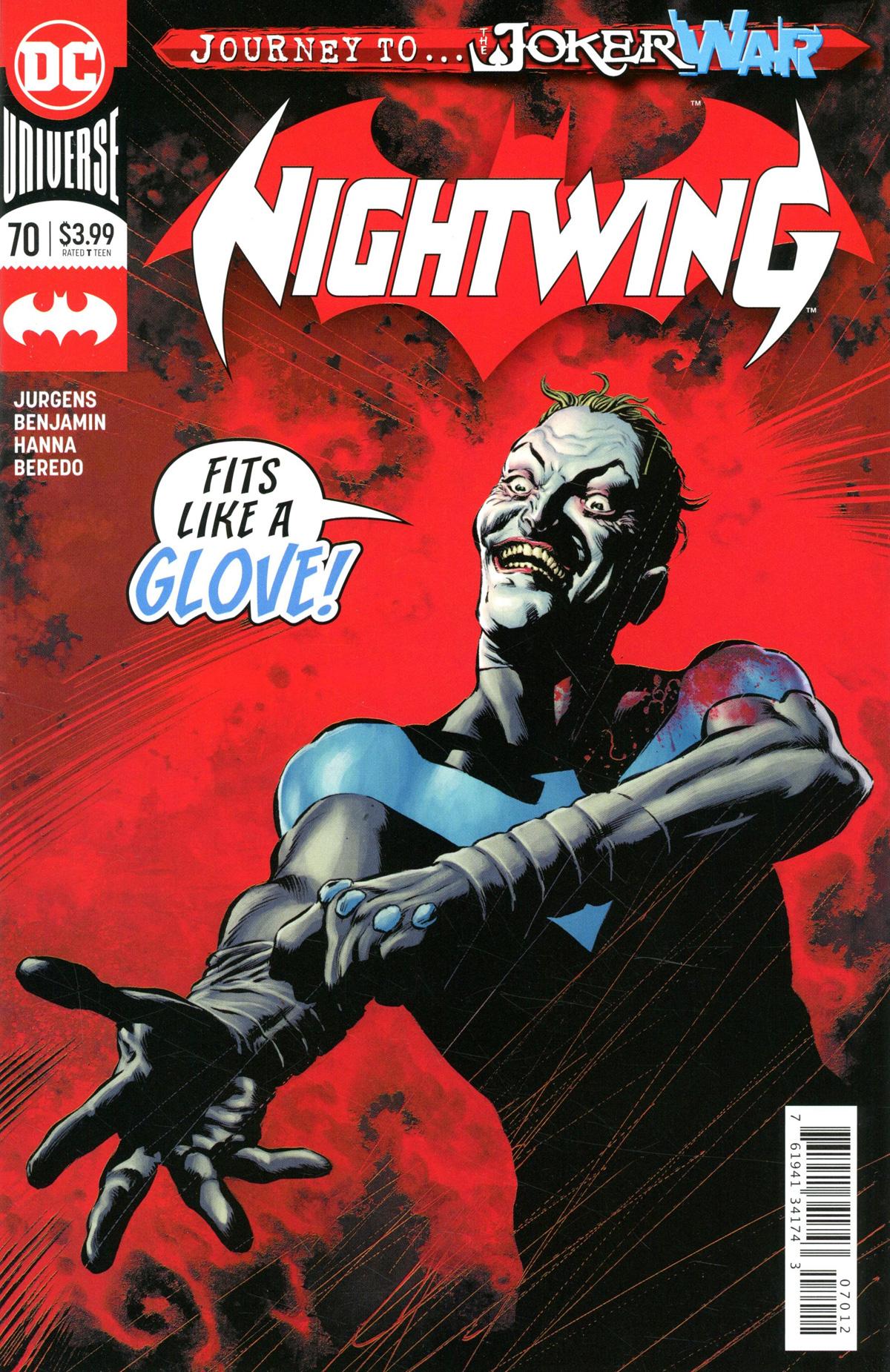 Nightwing Vol 4 #70 Cover C 2nd Ptg (Joker War Tie-In)