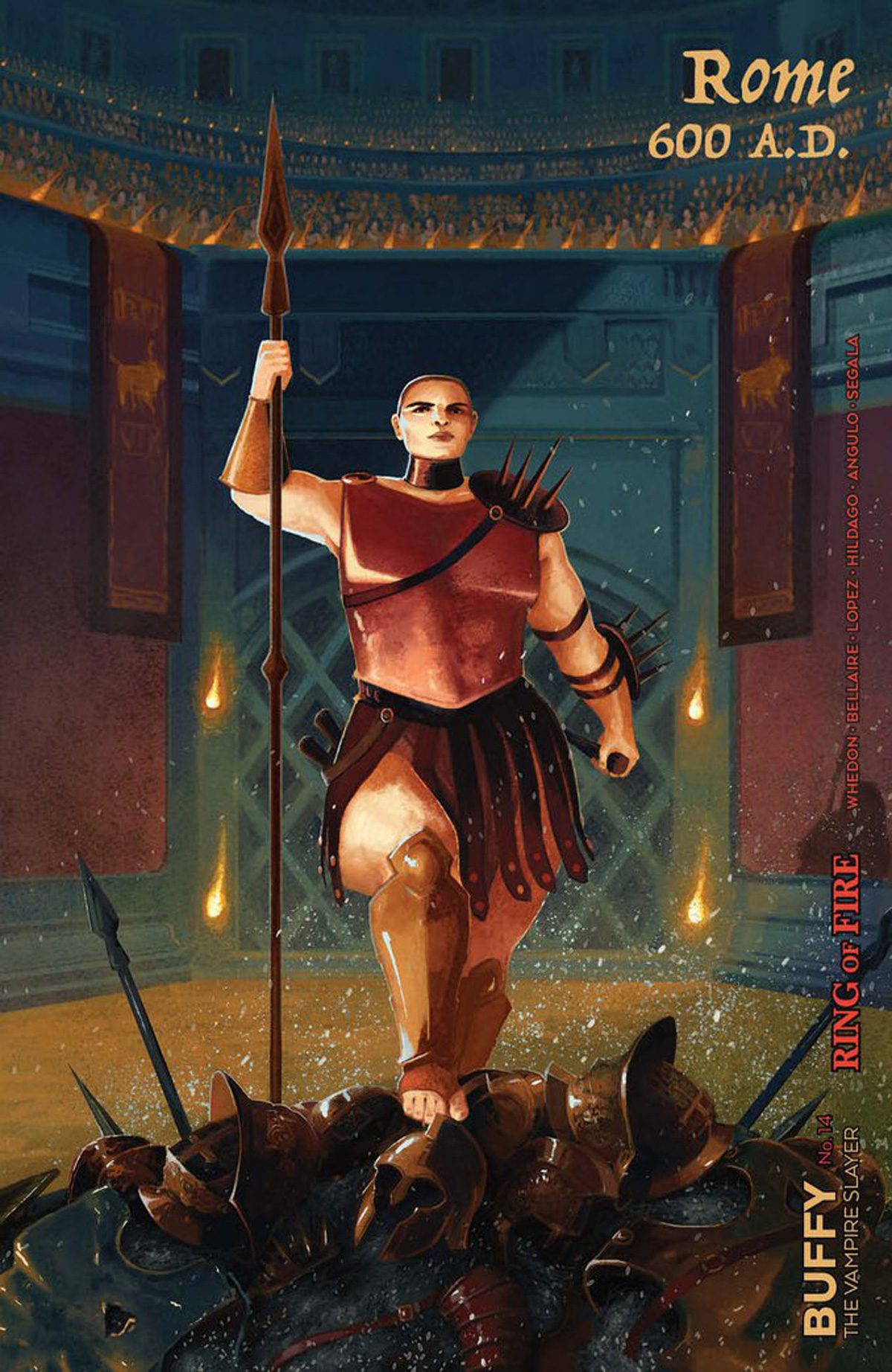 Buffy The Vampire Slayer Vol 2 #14 Cover D Variant Serena Malyon Slayer Cover