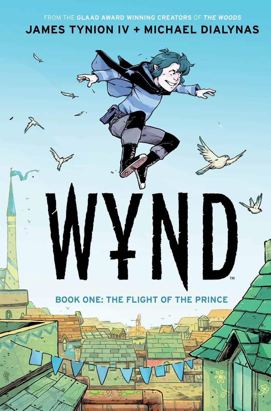 WYND #1 Cover A Regular Michael Dialynas Cover