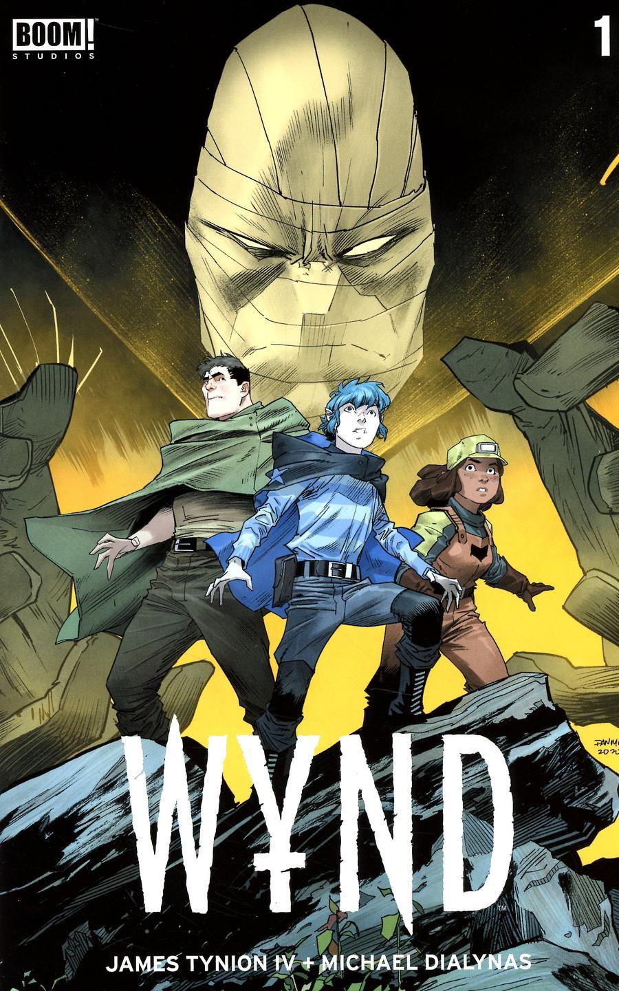 Wynd #1 Cover B Variant Dan Mora Cover