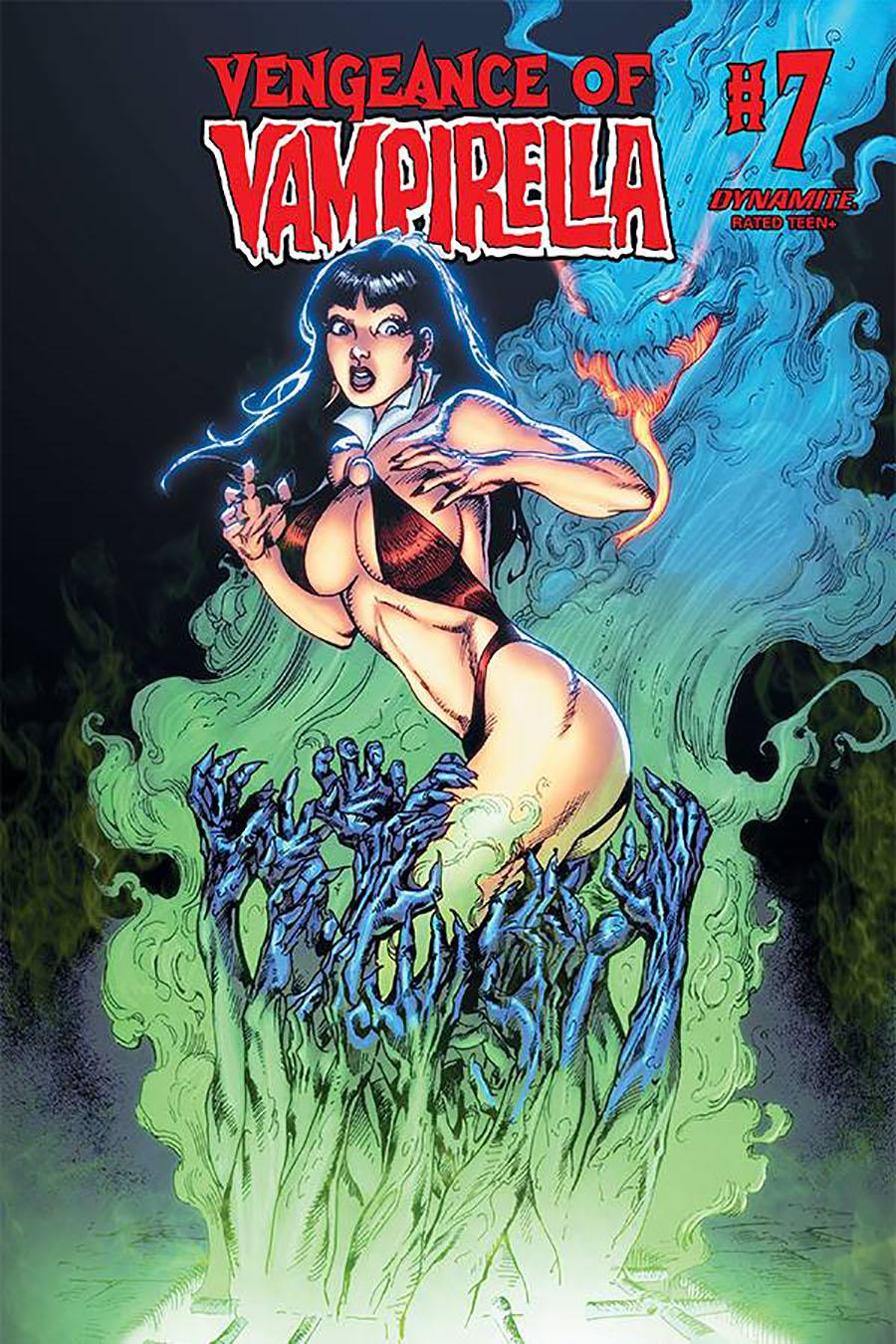 Vengeance Of Vampirella Vol 2 #7 Cover E Variant Roberto Castro Cover