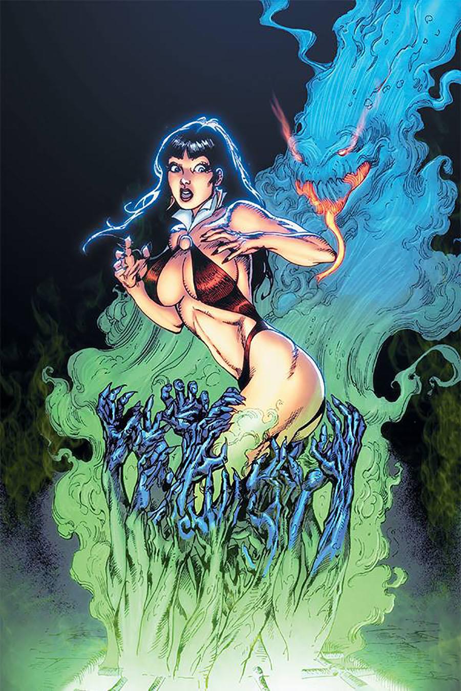 Vengeance Of Vampirella Vol 2 #7 Cover F Incentive Roberto Castro Virgin Cover