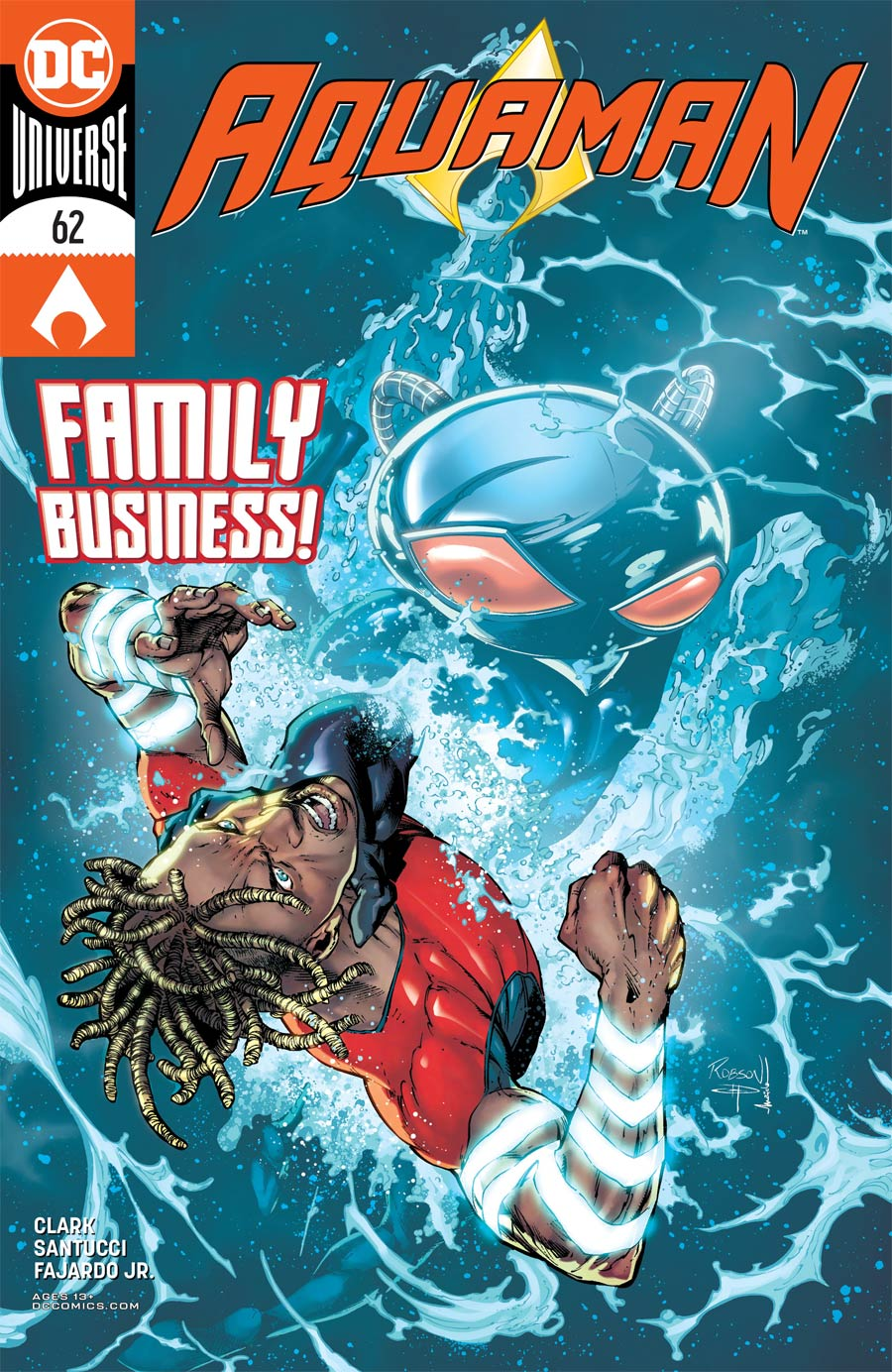 Aquaman Vol 6 #62 Cover A Regular Robson Rocha Cover