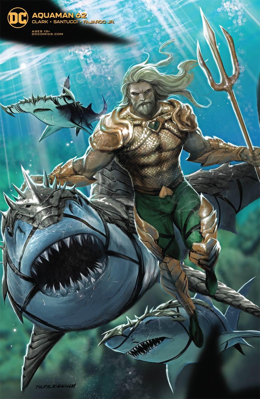 Aquaman Vol 6 #62 Cover B Variant Tyler Kirkham Cover