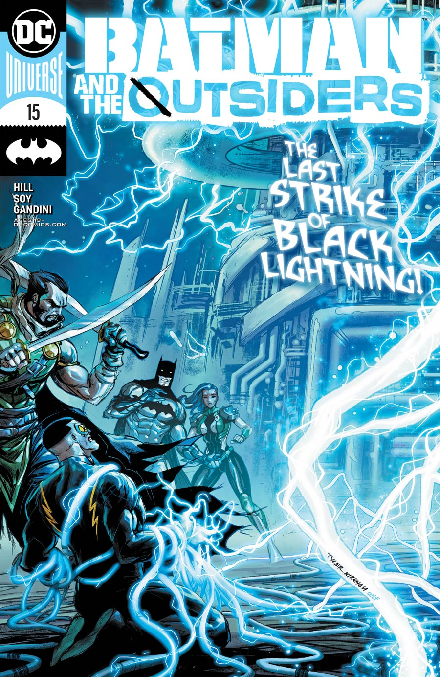 Batman And The Outsiders Vol 3 #15 Cover A Regular Tyler Kirkham Cover