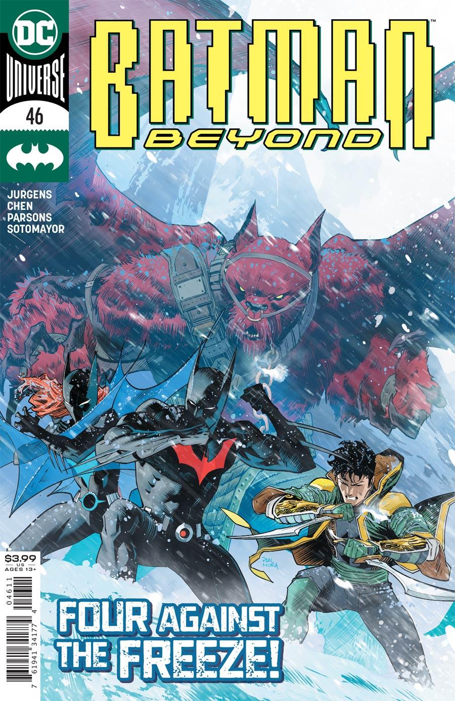 Batman Beyond Vol 6 #46 Cover A Regular Dan Mora Cover