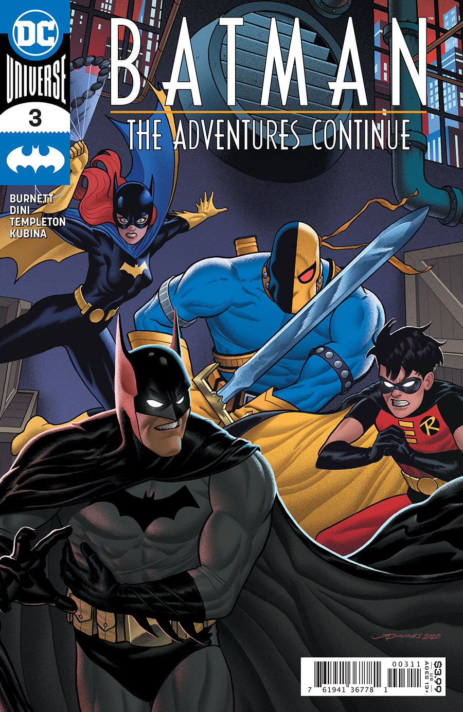 Batman The Adventures Continue #3 Cover A Regular Joe Quinones Cover
