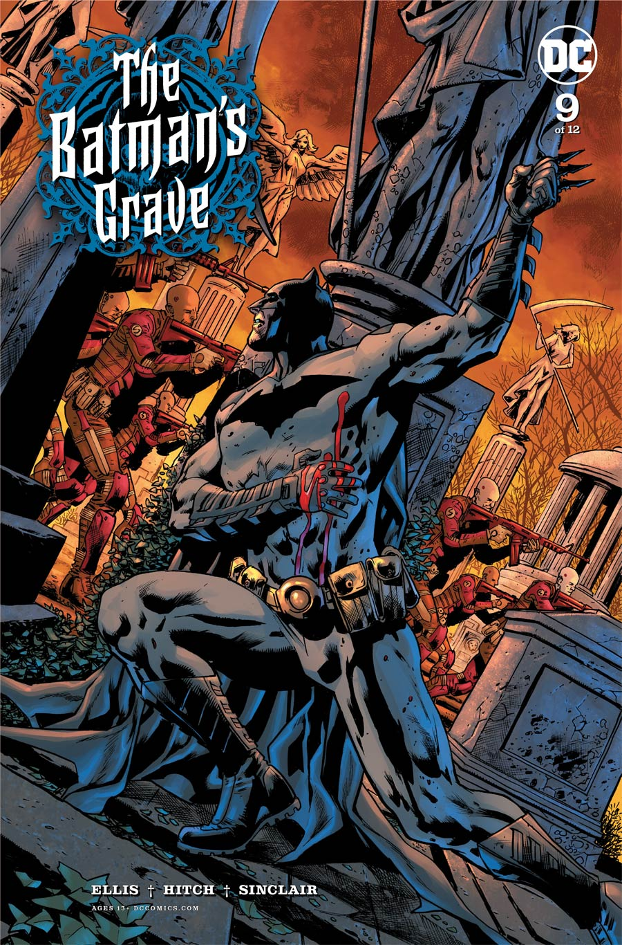 Batmans Grave #9 Cover A Regular Bryan Hitch Cover
