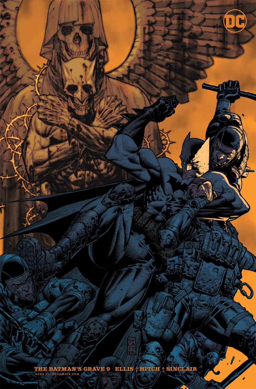Batmans Grave #9 Cover B Variant Stephen Platt Card Stock Cover