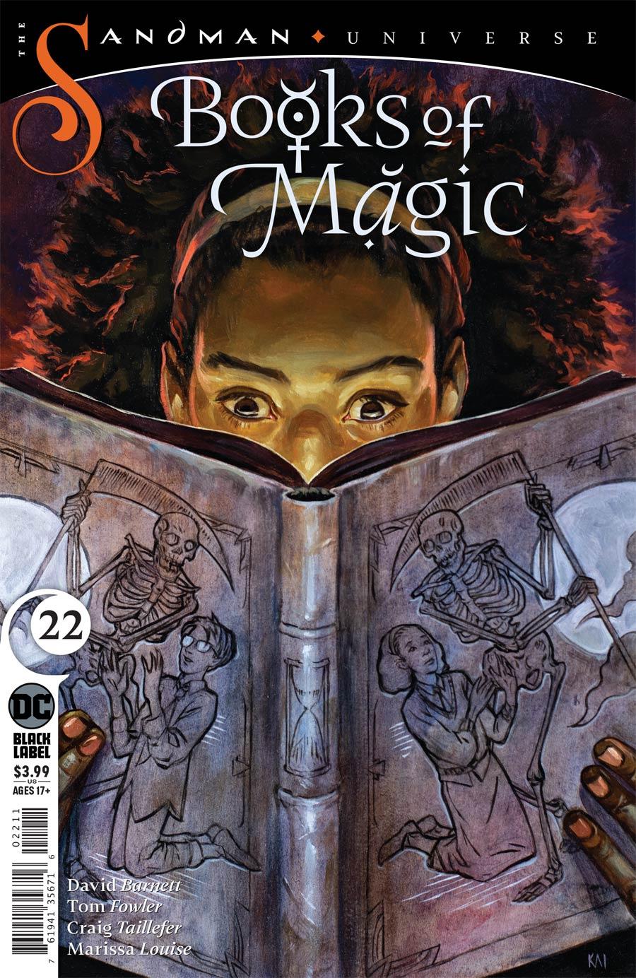 Books Of Magic Vol 3 #22