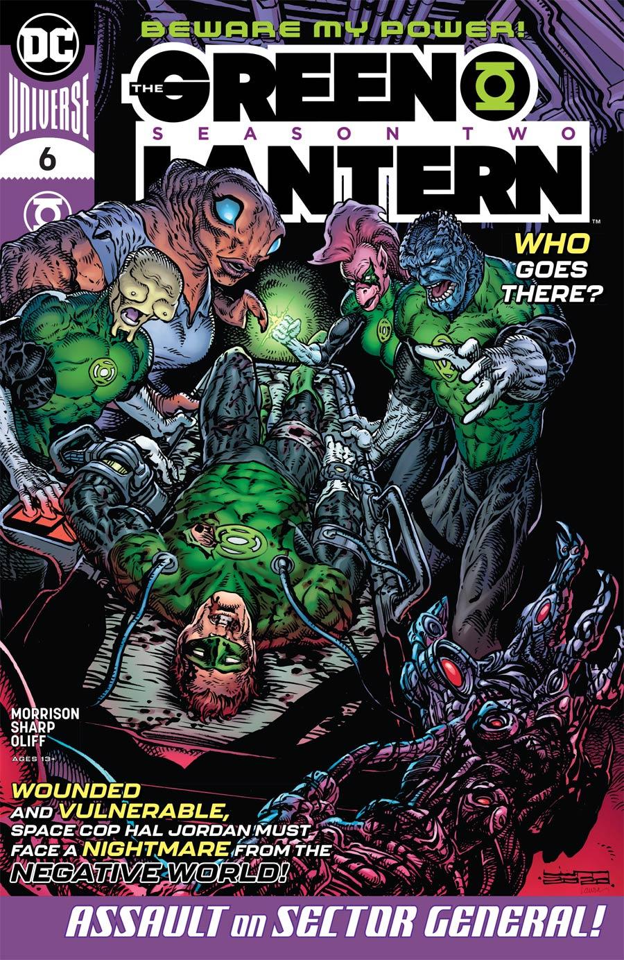 Green Lantern Vol 6 Season 2 #6 Cover A Regular Liam Sharp Cover