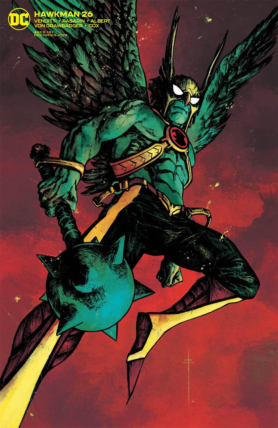 Hawkman Vol 5 #26 Cover B Variant Sebastian Fiumara Cover