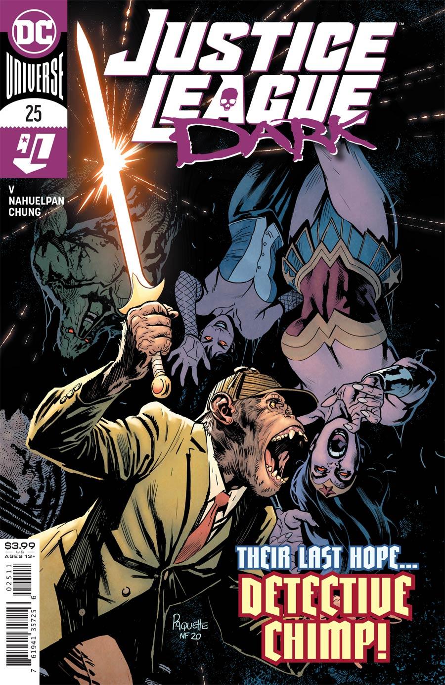 Justice League Dark Vol 2 #25 Cover A Regular Yanick Paquette Cover