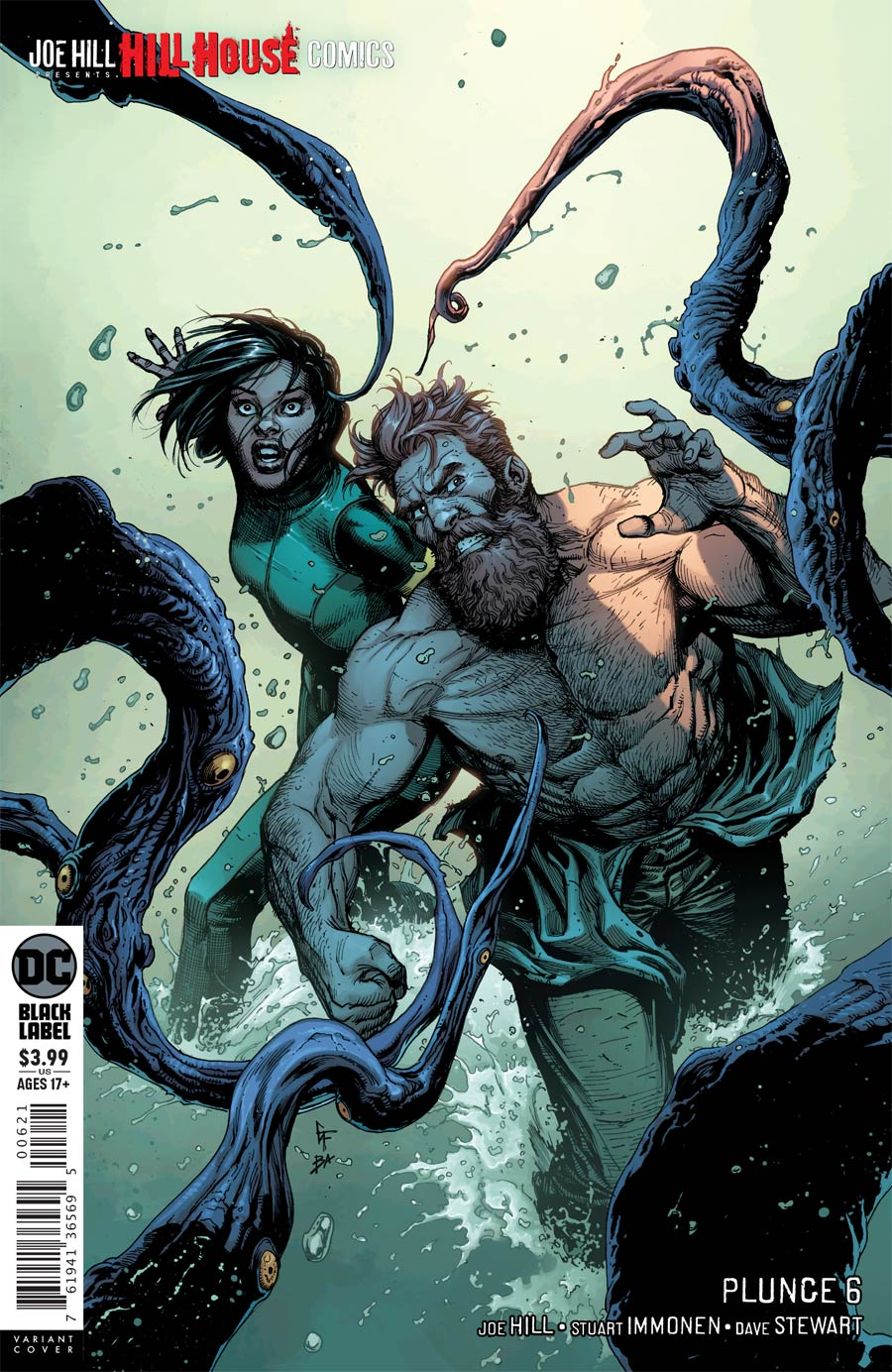 Plunge #6 Cover B Variant Gary Frank Cover