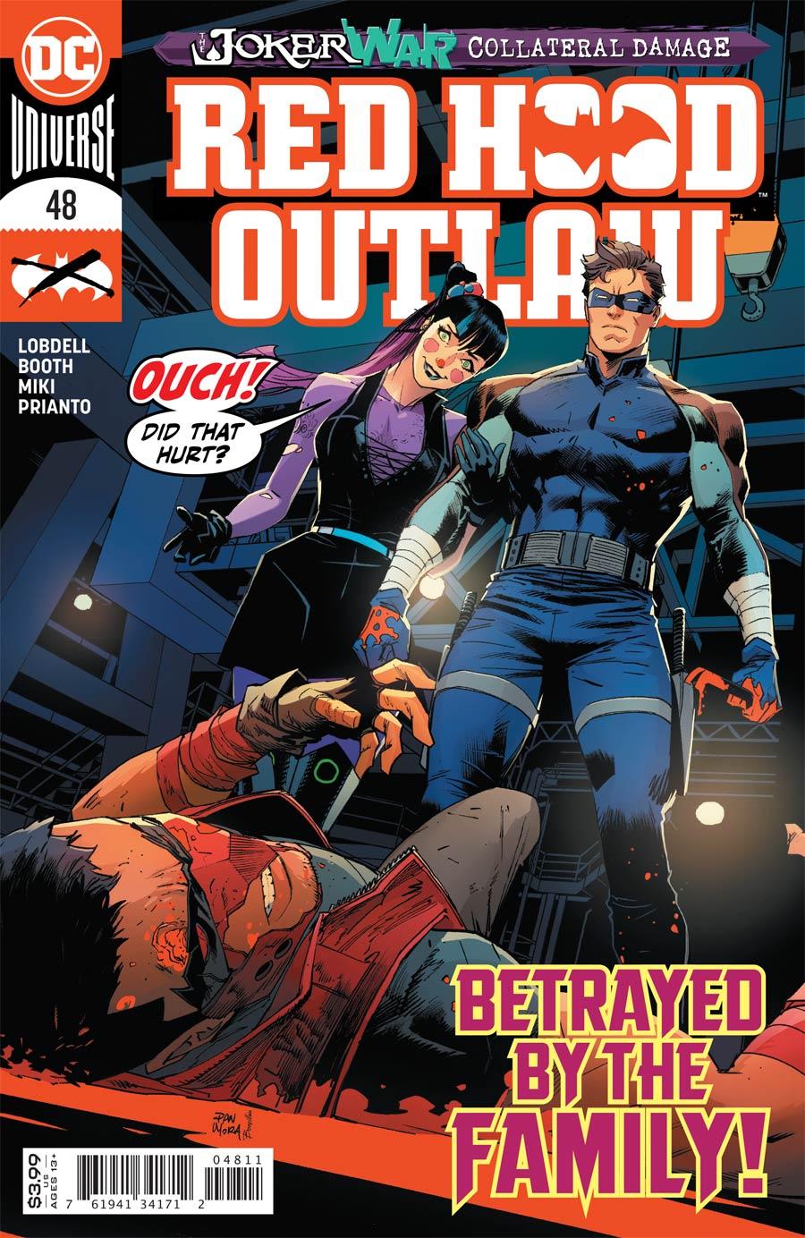 Red Hood Outlaw #48 Cover A Regular Dan Mora Cover (Joker War Tie-In)
