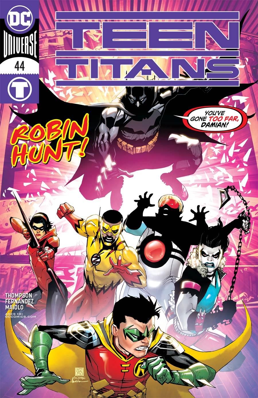 Teen Titans Vol 6 #44 Cover A Regular Bernard Chang Cover