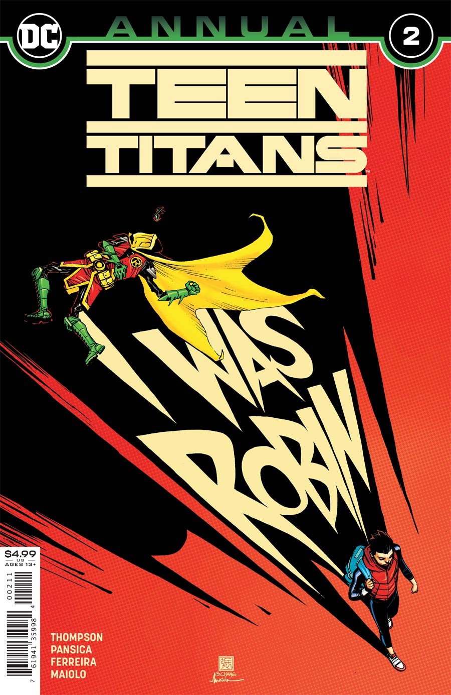 Teen Titans Vol 6 Annual #2