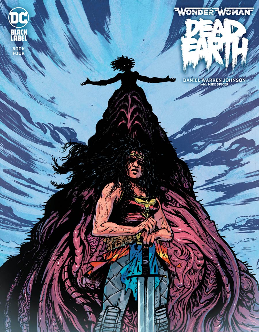 Wonder Woman Dead Earth #4 Cover A Regular Daniel Warren Johnson Cover